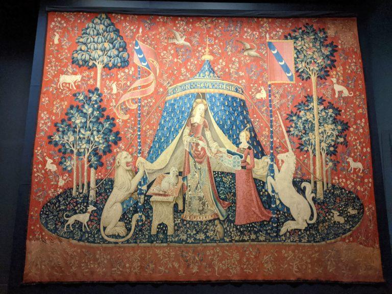 Tapisseries Dame à la Licorne - Musée de Cluny